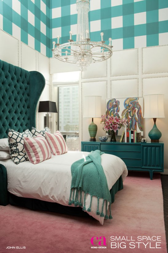 Bedroom and Bath Designed by Brian Patrick Flynn