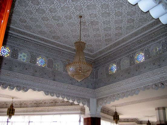 Mosaic Ceiling in Morocco