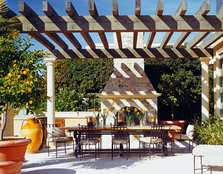 House Beautiful Pergola